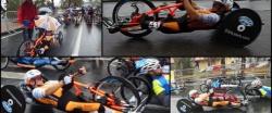 San Remo -  dernière course au classement du Concours européen de handbike (EHC).