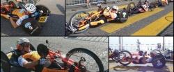 Lugano riverside circuit in Switzerland -  European Handbike competition (EHC)
